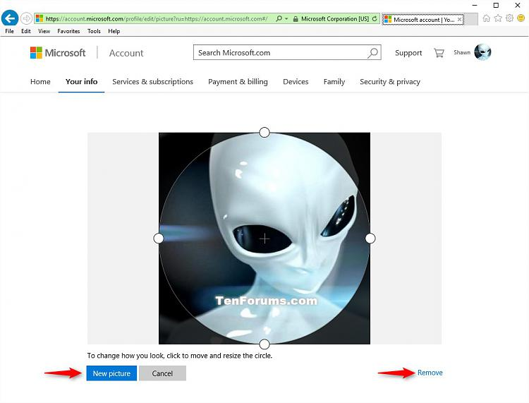 how to change your microsoft account