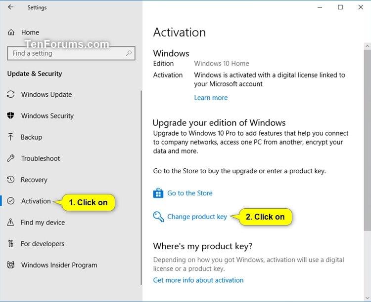 how to backup my windows 10 product key