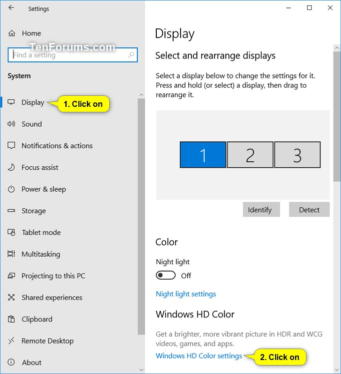 Turn On or Off Stream HDR video for a Display on Windows 10-stream_hdr_video-1.jpg