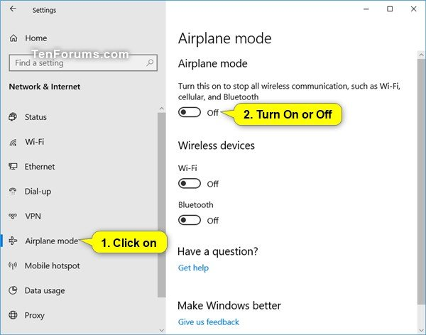 Optimize Battery Life on Windows 10 PC-airplane_mode_in_settings.jpg