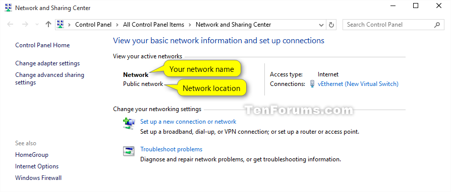 how to find domain name windows 10