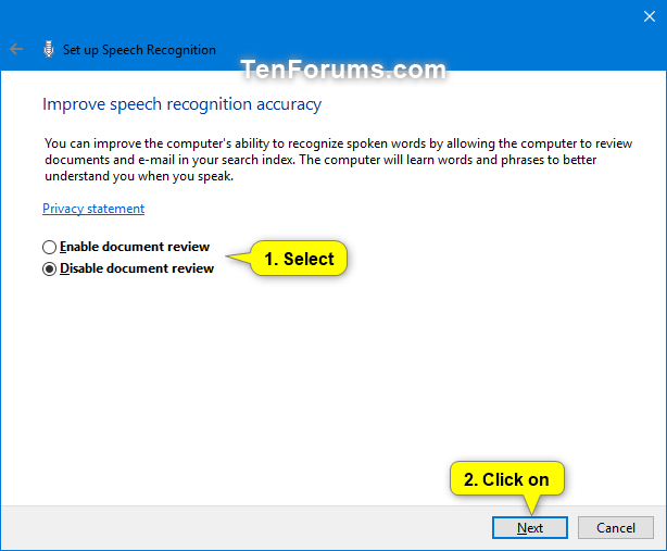 Set Up Speech Recognition in Windows 10 | Tutorials