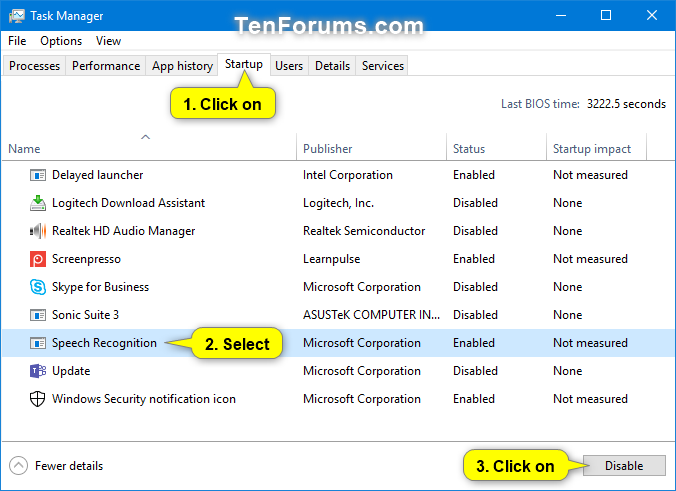 Enable or Disable Run Speech Recognition at Startup in Windows 10-run_speech_recognition_at_startup_task_manager-1.png
