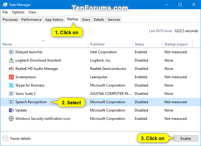 Enable or Disable Run Speech Recognition at Startup in Windows 10-run_speech_recognition_at_startup_task_manager-2.png