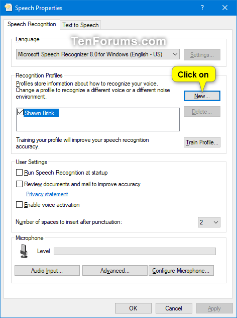 Add, Delete, and Change Speech Recognition Profiles in Windows 10-add_profile_for_speech_recognition-1.png