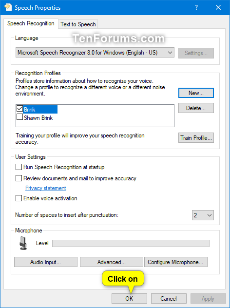 Add, Delete, and Change Speech Recognition Profiles in Windows 10-add_profile_for_speech_recognition-7.png