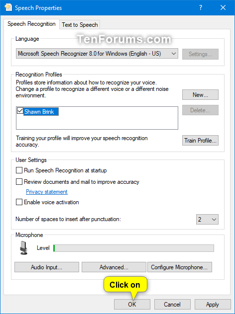 Add, Delete, and Change Speech Recognition Profiles in Windows 10-delete_profile_for_speech_recognition-4.png