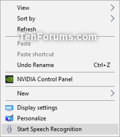 Start Speech Recognition in Windows 10-start_speech_recognition_context_menu.png