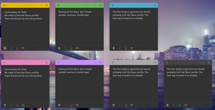 Change Color of Sticky Notes in Windows 10-sitcky_notes_dark.jpg