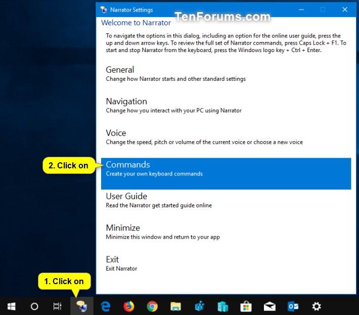 Change Keyboard Shortcuts for Narrator Commands in Windows 10-narrator_commands-1.jpg
