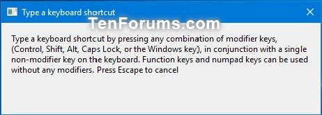 change windows key function