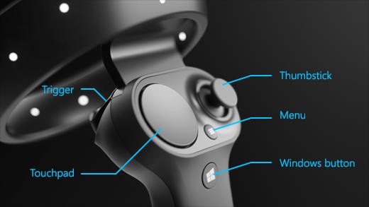 Setup and Pair Mixed Reality Motion Controllers in Windows 10-mixed_reality_controller_layout.png