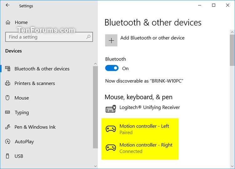 Setup and Pair Mixed Reality Motion Controllers in Windows 10-pair_mixed_reality_motion_controller-8.jpg