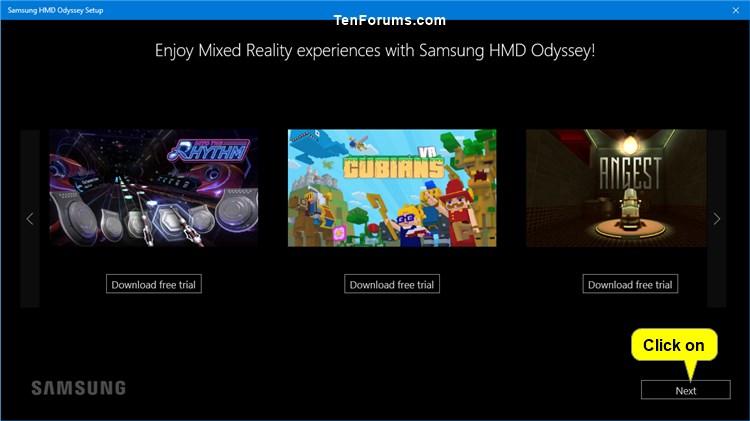 Set Up Windows Mixed Reality Headset in Windows 10   Tutorials