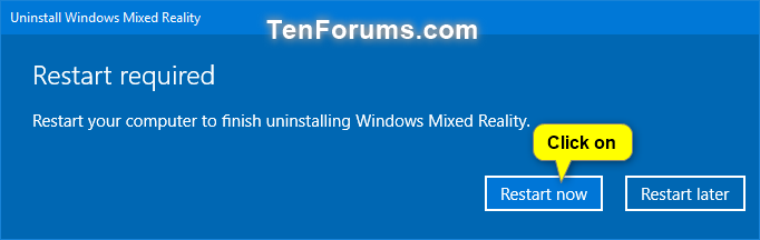 Uninstall and Reset Windows Mixed Reality in Windows 10 | Tutorials