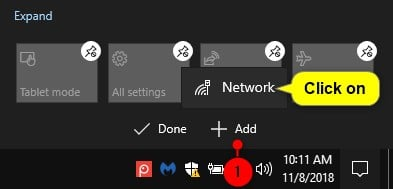Add or Remove Quick Actions in Action Center in Windows 10-customize_quick_actions_directly_from_action_center-6.jpg