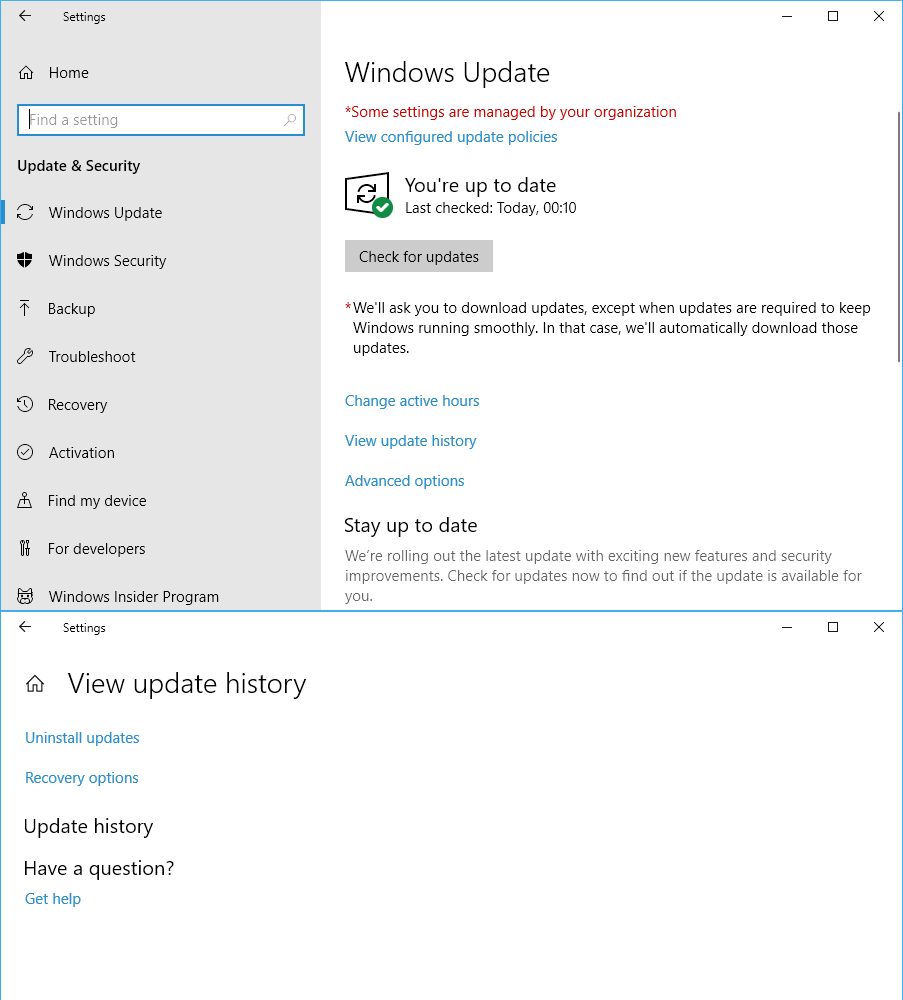 Hide or Show Windows Updates in Windows 10 - Page 20