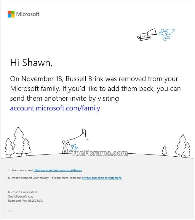 Add or Remove Child Member for Microsoft Family Group in Windows 10-family_member_left_email-2.jpg