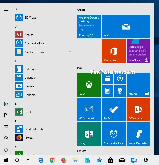 Add Windows Mode Context Menu for Light or Dark Theme in Windows 10-light_theme_for_default_windows_mode.jpg