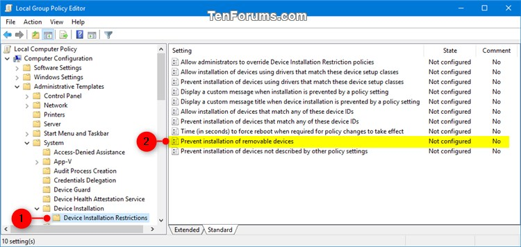 Name:  Prevent_installation_of_removable_devices_gpedit-1.jpg Views: 118 Size:  76.6 KB