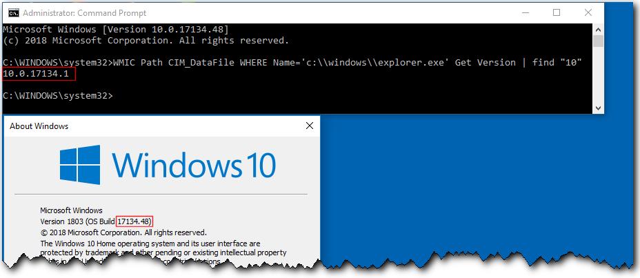 Find Windows 10 Build Number | Tutorials