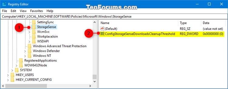 Specify Storage Sense Delete Files in Downloads Folder in Windows 10-storage_sense_downloads_folder_regedit-1.jpg