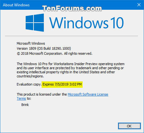 Check Expiry Date of Windows 10 Insider Preview Build-about_windows_expiry_date.png