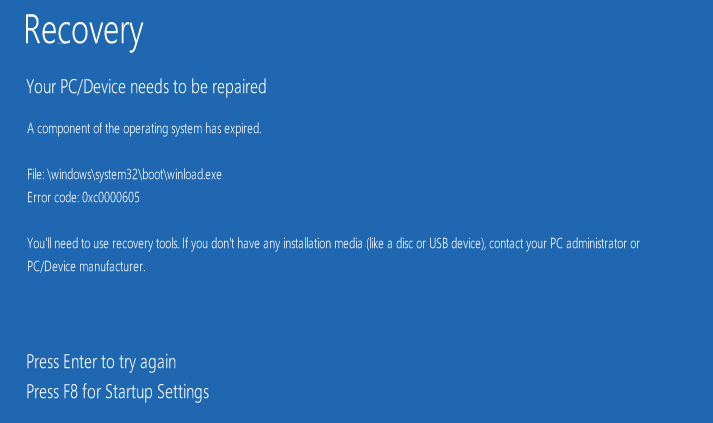Check Expiry Date of Windows 10 Insider Preview Build-recovery_component_of_the_operating_system_has_expired.png