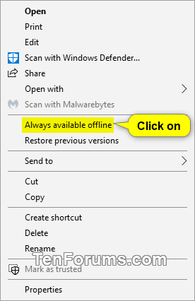 Set or Unset Network Files as Always Available Offline in Windows-set_network_files_always_available_offline-1.png