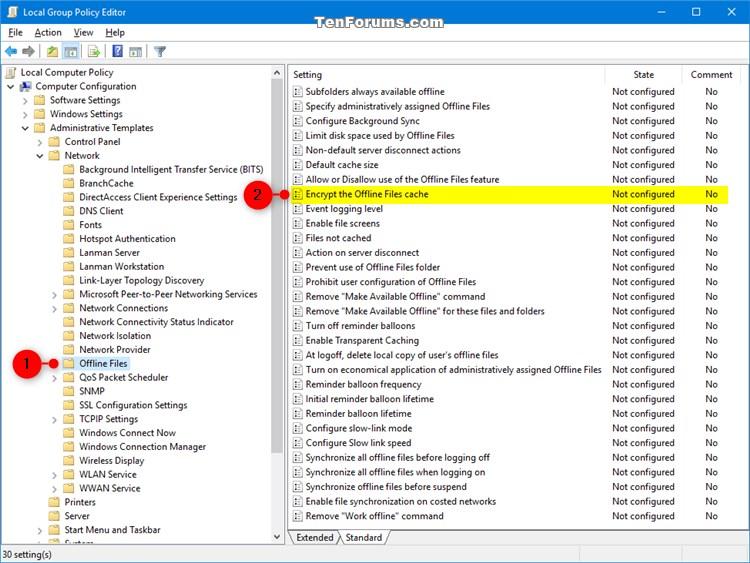 Encrypt or Unencrypt Offline Files Cache in Windows-encrypt_offline_files_gpedit-1.jpg