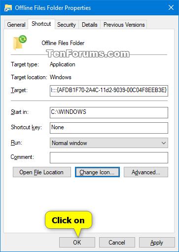 Create Offline Files Folder Shortcut in Windows-offline_files_folder_shortcut-5.png