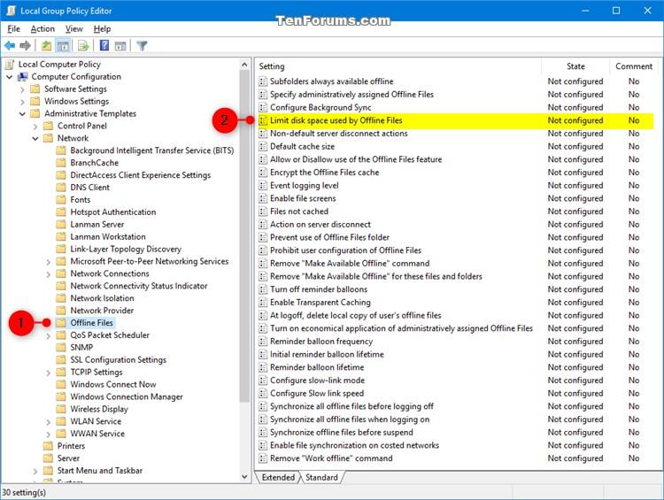 Name:  Offline_Files_Disk_Usage_Limits_gpedit-1.jpg Views: 37 Size:  127.8 KB