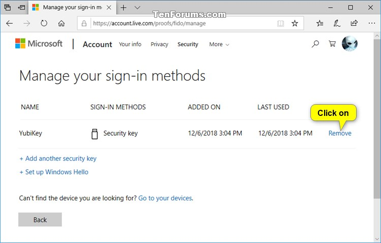 Set Up Security Key to Sign in to Microsoft Account in Microsoft Edge-remove_security_key_sign-in_method-1.jpg