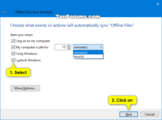 how to create offline login to windows