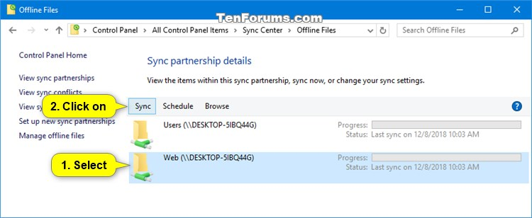 Manually Sync Offline Files in Windows-sync_center_sync-2.jpg