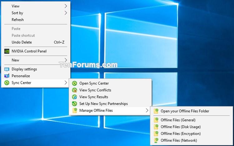 Add Sync Center Context Menu in Windows-sync_center_context_menu.jpg