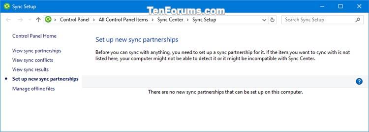 Add Sync Center Context Menu in Windows-sync_setup.jpg
