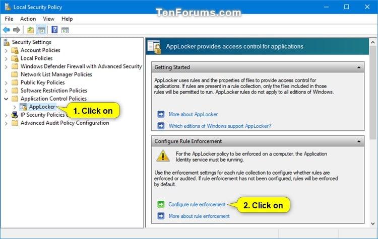Use AppLocker to Allow or Block Windows Installer Files in