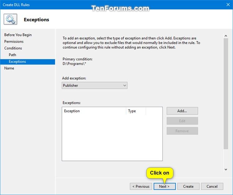 Use AppLocker to Allow or Block DLL Files from Running in Windows 10-block_dll_in_applocker-13d.jpg