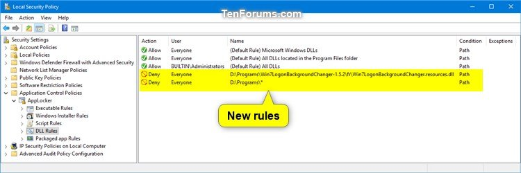 Use AppLocker to Allow or Block DLL Files from Running in Windows 10-block_dll_in_applocker-14.jpg
