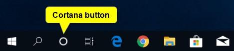 Hide or Show Cortana Button on Taskbar in Windows 10-cortana_button_on_taskbar.jpg