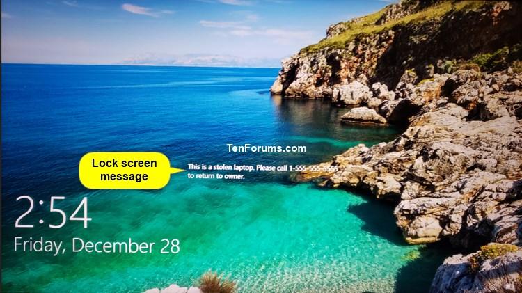 Name:  Lock_screen_message.jpg Views: 639 Size:  109.3 KB