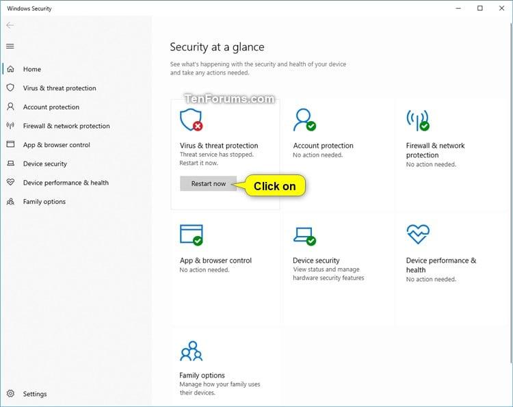 Turn On or Off Windows Defender Antivirus in Windows 10-windows_defender_antivirus_restart_now.jpg