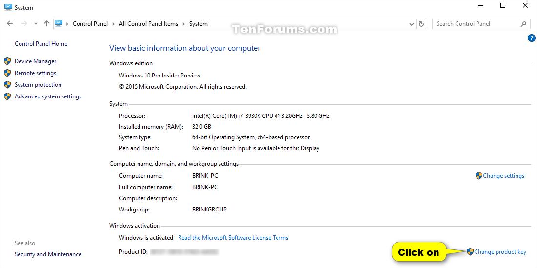 Как найти ключ продукта Windows 1 - Справка Windows