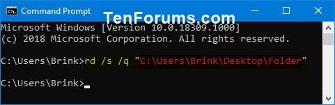 Delete Folder In Windows 10 Tutorials