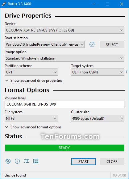 Créer un lecteur flash USB amorçable pour installer Windows 10-rufus-3.png
