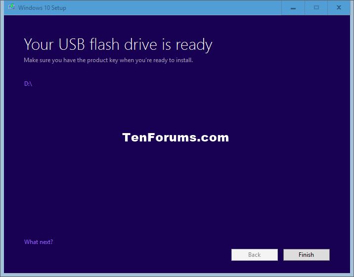 Créer un lecteur flash USB amorçable pour installer Windows 10-windows_10_download_tool-6.png