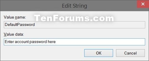 Sign in User Account Automatically at Windows 10 Startup-defaultpassword.jpg