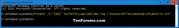 Run SFC Command in Windows 10-sfcdetails.png