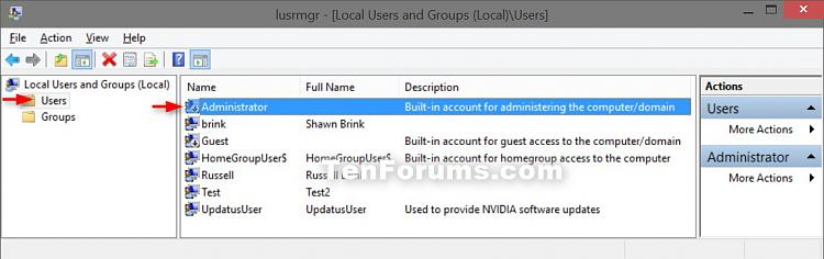 turn off built in administrator account